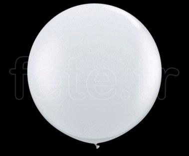 10 Ballons - Latex - Unis - Cristal- Ø40cm