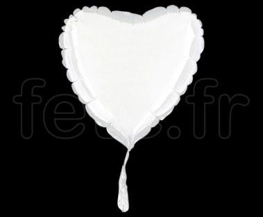 Ballon - Mylar - Coeur - Brillant - Uni - 20cm