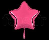 Ballon - Mylar - Etoile - Brillant - Uni - 20cm ROSE