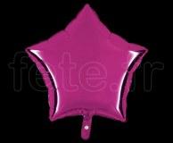 Ballon - Mylar - Etoile - Brillant - Uni - 45cm POURPRE