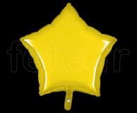 Ballon - Mylar - Etoile - Brillant - Uni - 45cm CITRON