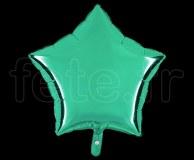 Ballon - Mylar - Etoile - Brillant - Uni - 45cm EMERAUDE