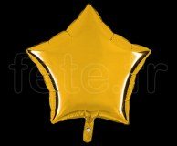 Ballon - Mylar - Etoile - Brillant - Uni - 45cm OR