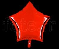 Ballon - Mylar - Etoile - Brillant - Uni - 45cm ROUGE