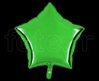 Ballon - Mylar - Etoile - Brillant - Uni - 45cm VERT