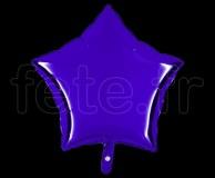 Ballon - Mylar - Etoile - Brillant - Uni - 45cm VIOLET
