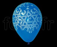 Ballon - Latex - Fantaisie - Ø30cm BATH_MITZVAH