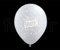 Ballon - Latex - Fantaisie - Ø30cm BONNE-ANNÉE
