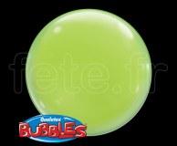 4_Ballons - Bubble - Unis - Sphérique - 38cm VERT-POMME