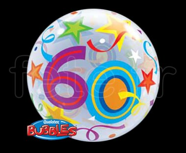 Ballon - Bubble - Fantaisy - Sphérique - 56cm