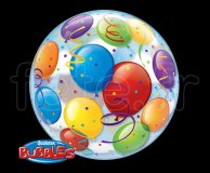 Ballon - Bubble - Fantaisy - Sphérique - 56cm BALLOON