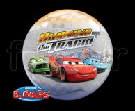 Ballon - Bubble - Licence - Sphérique - 56cm CARS