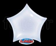 Ballon - Bubble - Déco - Etoile - 56cm TRANSPARENT