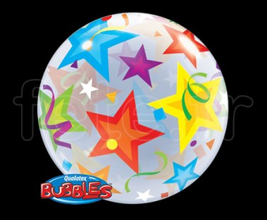 Ballon - Bubble - Fantaisy - Sphérique - 56cm ETOILE