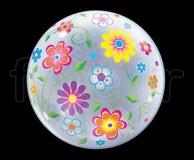 Ballon - Bubble - Fantaisy - Sphérique - 56cm FLEURS-de-PRINTEMPS
