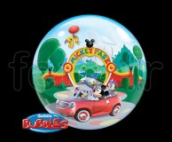 Ballon - Bubble - Licence - Sphérique - 56cm MICKEY