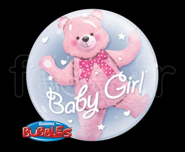 Ballon - Bubble - Double - Sphérique - 61cm