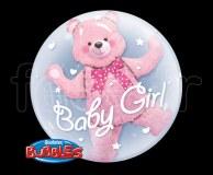 Ballon - Bubble - Double - Sphérique - 61cm FILLE