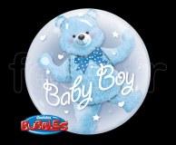 Ballon - Bubble - Double - Sphérique - 61cm GARCON