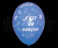 Ballon - Latex - Fantaisie - Ø30cm C'EST-UN-GARCON