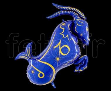Ballon - Mylar - Bleu- Zodiaque -