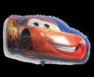 Ballon - Mylar - Forme - Licence - Ø 60/70cm CARS