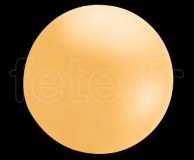 Ballon - Chloroprene - Unis - Mat - 2.40m ORANGE