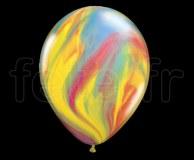 25 Ballons - Latex - Déco - Mat - 30cm MARBRE