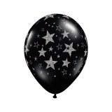 25 Ballons - Latex - Déco - Mat - 30cm ETOILES-PAILLETTES