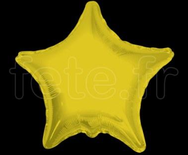 Ballon - Mylar - Etoile - Brillant - Uni - Ø 75cm