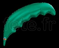 Ballon - Mylar - Forme - Deco - Ø 90cm FEUILLE-DE-PALMIER-VERTE