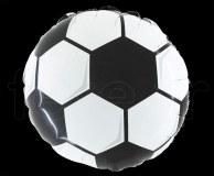 Ballon FOOT - Mylar - Rond - Déco - Ø 45cm