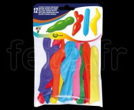 Ballon - Latex - Fantaisie - Ø30cm FORME-(assortiment)