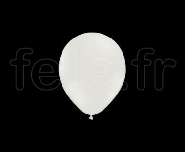 100 Ballons - Latex - Unis - Mat - Ø10cm