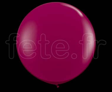 Ballon - Latex - Unis - Nacré - 1m