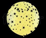 Ballon - Latex - Déco - Mat - 1m ETOILE-JAUNE