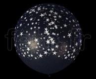 Ballon - Latex - Déco - Mat - 1m ETOILE-NOIR