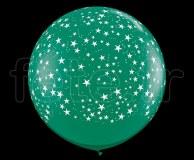 Ballon - Latex - Déco - Mat - 1m ETOILE-VERT