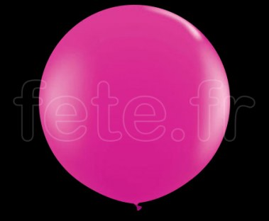 Ballon - Latex - Unis - Mat - 80cm