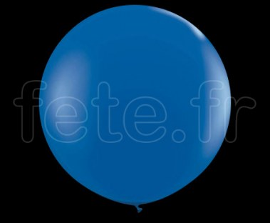 Ballon - Latex - Unis - Mat - 1m