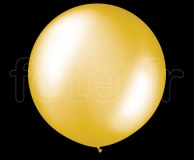 Ballon - Latex - Unis - Nacré - 1m OR