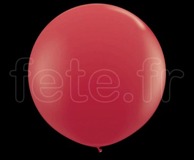 Ballon - Latex - Unis - Mat - 80cm