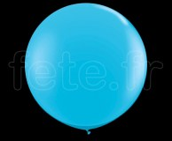 Ballon - Latex - Unis - Mat - 80cm TURQUOISE