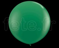 Ballon - Latex - Unis - Nacré - 1m VERT
