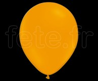 100 Ballons - Latex - Unis - Mat - Ø30cm MANDARINE
