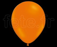 100 Ballons - Latex - Unis - Mat - Ø30cm ORANGE