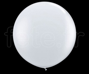 Ballon - Latex - Unis - Mat - Ø60cm