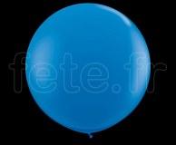 Ballon - Latex - Unis - Mat - Ø60cm BLEU