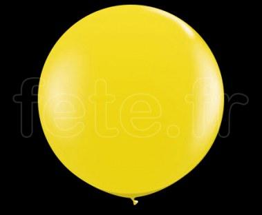 Ballon - Latex - Unis - Mat - Ø60cm