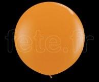 Ballon - Latex - Unis - Mat - Ø60cm ORANGE